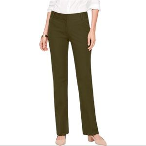 Talbots Newport Pant Forest Green Size 2